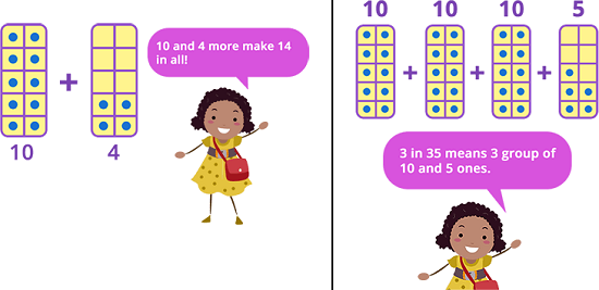 Adding numbers greater than 20
