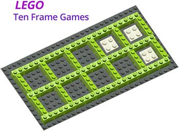 Lego ten frame game