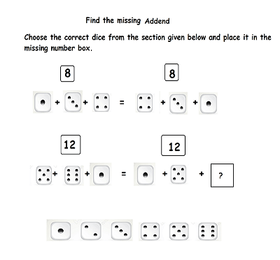 missing addend using associative property of addition