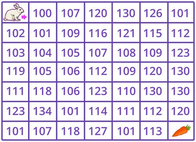 Count to 120 math games