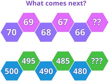 backward number counting game