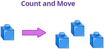 Count and move game