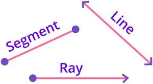 Identifying line line segments and rays