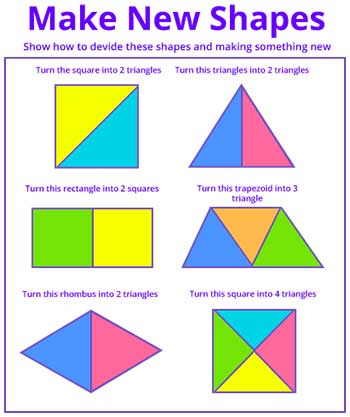 Compose new shape from a shape