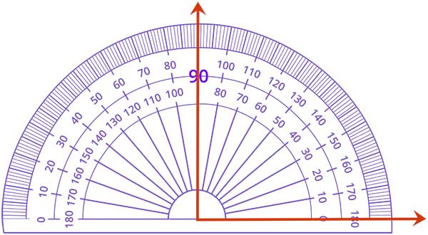Measure angles using a protractor