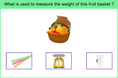 Match the correct instrument used for measurement