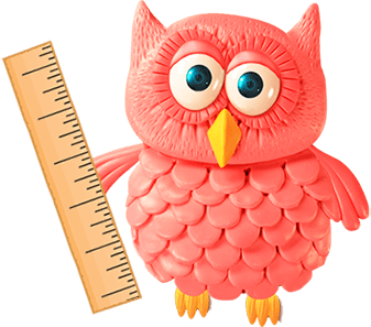 Owl with Ruler