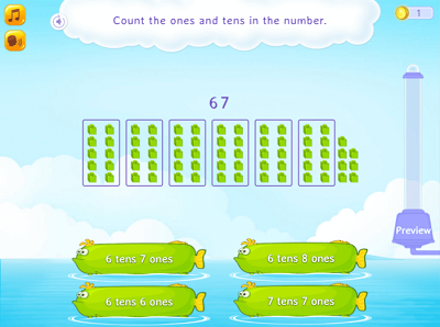 Count ones and tens