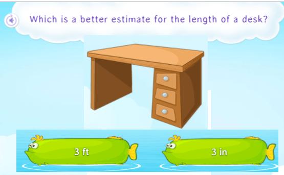 Estimate length of desk