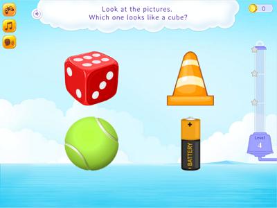identify cube game